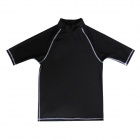 Sbart Men's Water Sport Surfing Top Clothes Shirt - Black (Size L)
