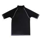 Sbart Water Sports Men's Nylon + Spandex Surfing Clothes - Black (Size XL)