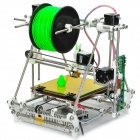 Open Heacent RepRap Prusa Mendel 3DP02 3D Printer Assembly Kit /0.3mm Nozzle/1.75mm Filament