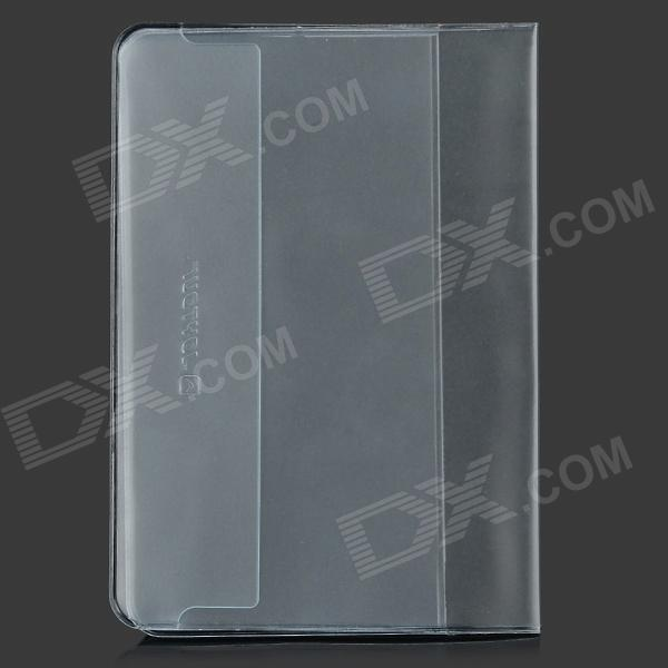 JOYTOUR JT2001 Matte PVC Passport Holder - Transparent