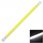 15W 800LM 6500K Cool White Light Lamp Strip - Prata + Amarelo