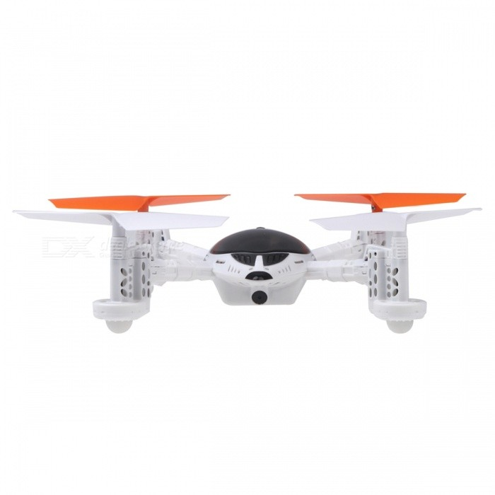 Walkera QR W100S 2.4GHz 4-CH Wi-Fi Control FPV R/C Quadcopter Drone - White + Black + Yellow