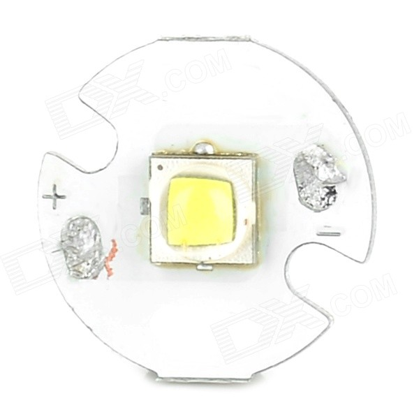 10W 800lm White Light LED Emitter On 16mm Star - Silver + White (3.0~4.2V) singfire 800lm white light led emitter