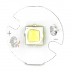 Cree XM-L2 T6 10W 800lm White Light LED Emitter On 16mm Star - Silver + White (3.0~4.2V)