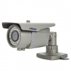 Bessky BE-IVC42S wasserdichte 1/4 CCD 420 Linien Surveillance Video Camera w / 42-IR LED - Grau