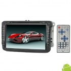 "Klyde KD-8008 8"" Touch Screen Car DVD Player w/ GPS / Bluetooth / FM / AM for VW Golf 5 / 6 - Black"