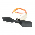 Tail Motor w/ Tail Rotor for V911 R/C Single-Rotor 4CH Helicopter - Black + Silver