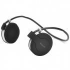 Jingyin BH58 Fashion Sports Neckband Bluetooth 2.1 Heaset - Black + Silver
