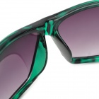 ANT 2087 UV400 Protection PC Lens Sunglasses - Green + Black