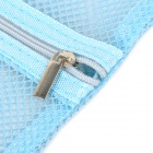 Breathable Mesh Travel Goods Management Bags w/ Zipper - Blue
