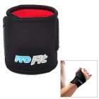 PORFIT PW001 Adjustable Sports Wrist Support Protector w/ Velcro Band - Black