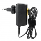 Micro USB Cable EU Plug Power Adapter for Lenovo / Asus / Sony Ericsson Tablet PC - Black