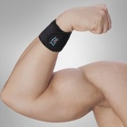 U-Healer L030 Self-Heating Wrist Support Protector w/ Velcro Band - Black (Pair)
