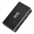 BW-V306B Super Speed ​​USB 3.0 4-Port HUB - Schwarz + Silber