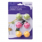 CC-929 Universal Desktop Cable Winder Organizer (6 PCS)