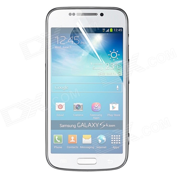 все цены на ENKAY Clear HD Screen Protector Film Guard for Samsung Galaxy S4 Zoom / C1010 - Transparent онлайн