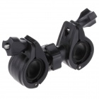 M12 Universal Movement Loudspeaker / DV Holder Stand for Motorcycle - Black