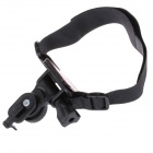 M21C Outdoor Sports DV Velcro Mount Bracket w/ Fixing Band - Black