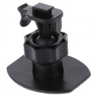 H30C Universal 3M Glue Stick Holder Base for Automobile Data Recorder / GPS - Black