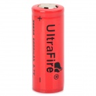 UltraFire Rechargeable 26650 2200mAh 3.7V Li-ion Battery for Flashlight - Red + Silver + Black