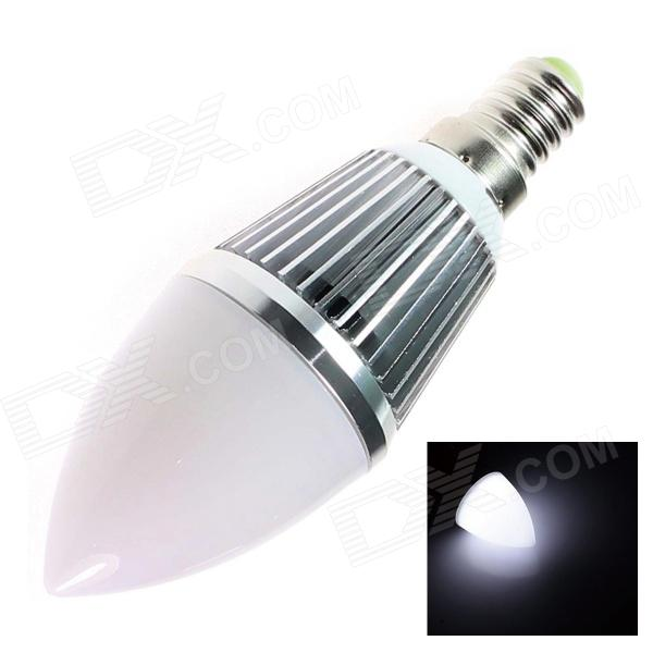 GCD B2 E14 3W 240lm 6500K 6-SMD 5630 LED White Light Lamp Bulb - White (AC 85~265V) hl062 2 new men s 100