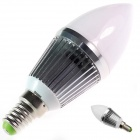 GCD B2 E14 3W 240lm 6500K 6-SMD 5630 Cool White Light Lamp Bulb