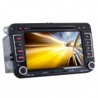 "Joyous J-86213MX 7"" Screen 2 DIN Car Radio w/ GPS Navigation / ISDB-T, Canbus for VW Car - Black"