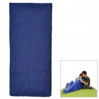 CY-0906 Outdoor Polar Fleece Sleeping Bag - Blue