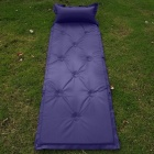 CQD01 Automatic Blow-up Lilo Camping Mat - Deep Blue