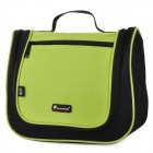 HX LTB001 Travel Toiletry Washing Bag - Black + Green