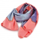 SGARLY Stylish Silk + Polyester Scarf for Women - Multicolored