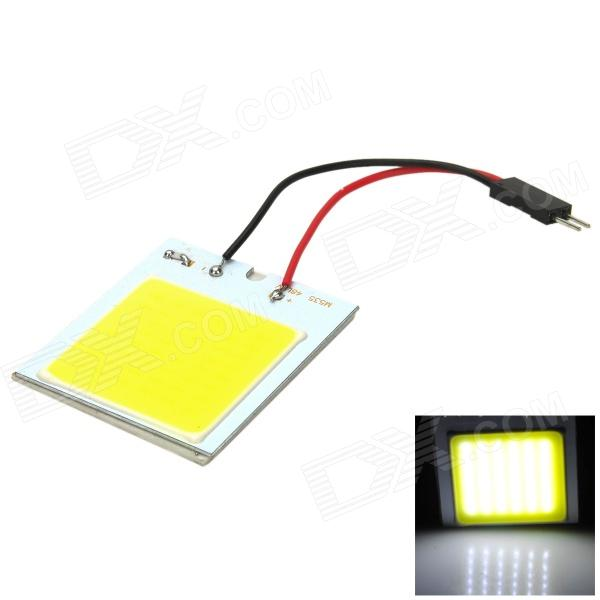 LY427 4W 115lm 48-LED White Car Reading Indoor Light Board w/ T10 / BA9S / Festoon Connectors