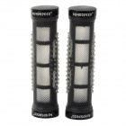 WindSpeed(WS) Bike Bicycle TPR + Aluminum Alloy Handlebar Grip - Black (2 PCS)