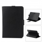 "G-COVER Universal Flip-open Adjustable PU Leather + Velvet Case w/ Holder for 7"" Tablet PC - Black"