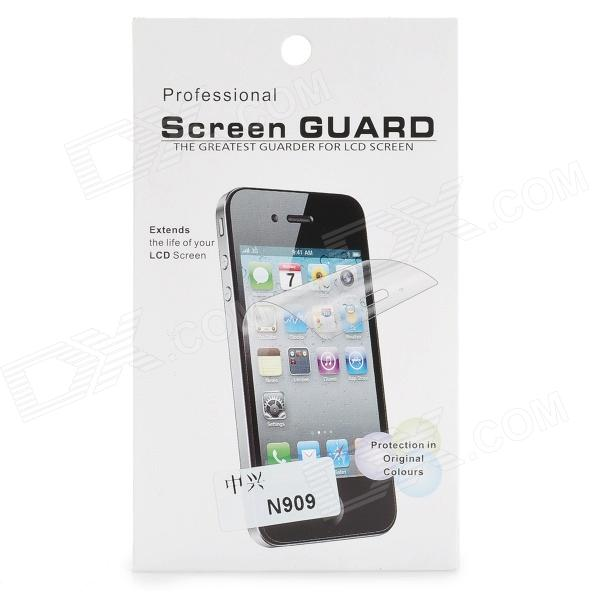 Protective Clear Screen Protector Film Guard for ZTE N909 - Transparent newtop protective clear screen protector film guard for ipad air transparent