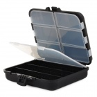 GT56 Fishing Gear Tools Management Storage Box - Schwarz