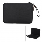 "G-COVER EVA + 1680D Nylon + Velvet Protective Zipper Bag for 11.6"" MacBook Laptop - Black"