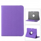 Flip-open PU + Plastic Case w/ 360' Rotating Back + Autosleep + Holder + Card Slot for Samsung P5200