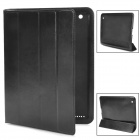 L.LA E-BAG-04 Protective PU Leather Case for iPad 4 - Black