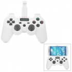 Lemon V54 Wireless Bluetooth V3.0 Game Controller for Android Cellphones + More - White + Black