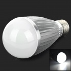 KID KLB-C7-G E27 7W 420lm 6500K 1-COB LED White Light Bulb - Silver + White