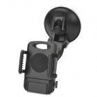 Car Universal Tablet / Moblephone Suction Cup Holder - Black