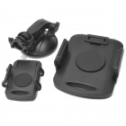 Universal Car tableta / Moblephone Holder Ventosa - Negro