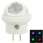 Bobway DB-791 4 Color Change 360 Degree Rotatable LED Night Light - White