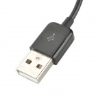 USB to Extended Micro USB Data Charging Cable - Black (95cm)