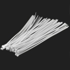 450mm Nylon + Plastic Cable Ties - Beige (50 PCS)