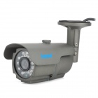 "Longse LIB24SHE 300KP 1/3"" CCD Waterproof Surveillance Security Camera w/ 24 IR LED - Grey"