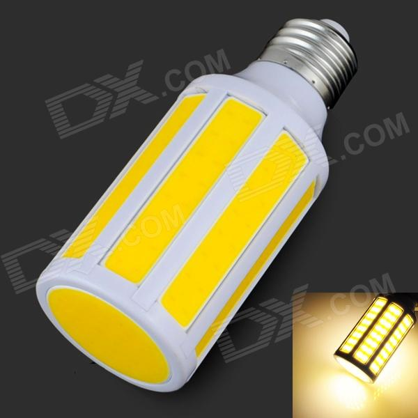 E27 9W 900lm 3200K 9-COB LED Warm White Light Bulb - White + Orange (200~265V) барный стул woodville rim бежевый
