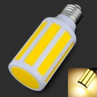E27 9W 3200K 900lm 9-COB-LED Warm White Light Bulb - Weiß + Orange (200 ~ 265V)