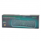 V90 2.4GHz Wireless USB 2.0 1000dpi Optical Air Mouse / 78-key Keyboard - Black